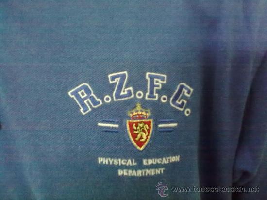 Coleccionismo deportivo: CAMISETA POLO NIKY NIKI ORIGINAL ADIDAS FUTBOL REAL ZARAGOZA TALLA 5 - Foto 2 - 31338914