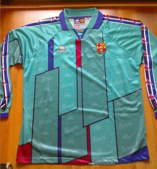 Camiseta fc barcelona barça kappa verde 96 97 m - Vendido en Venta ... 95d92a103b8cb