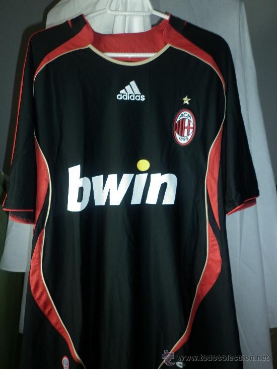 Camiseta ac milan tercera equipación 2006-2007. - Sold through ... 9f8434dbf0002