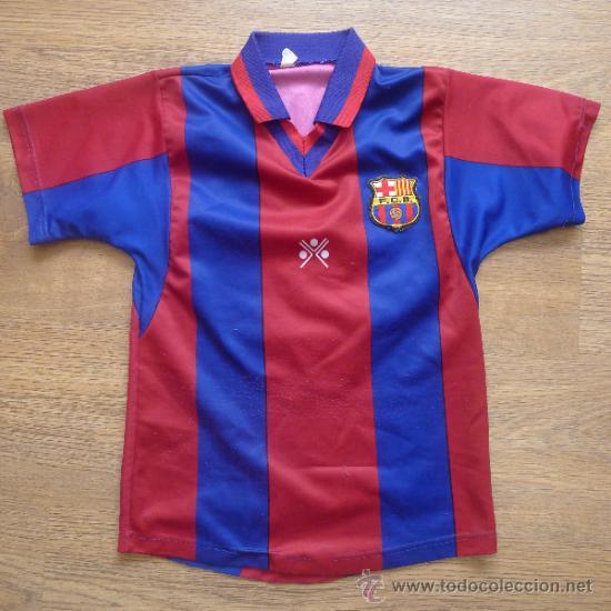 CAMISETA FUTBOL CLUB BARCELONA BARÇA CEJUDO TRUJILLO PARA NIÑO (Coleccionismo Deportivo - Ropa y Complementos - Camisetas de Fútbol)