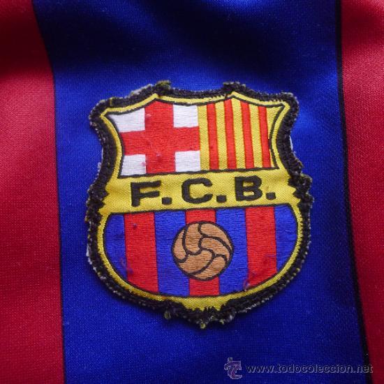 Coleccionismo deportivo: Camiseta Futbol club barcelona Barça Cejudo Trujillo Para niño - Foto 4 - 31742304