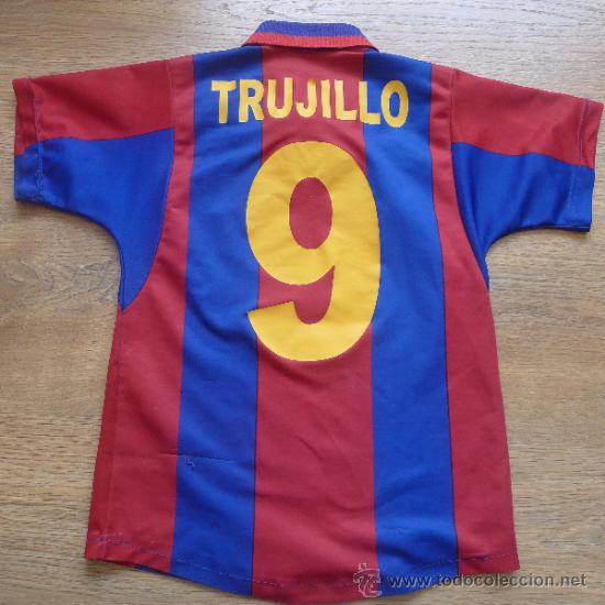 Coleccionismo deportivo: Camiseta Futbol club barcelona Barça Cejudo Trujillo Para niño - Foto 3 - 31742304
