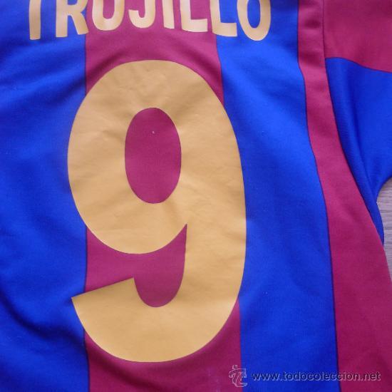 Coleccionismo deportivo: Camiseta Futbol club barcelona Barça Cejudo Trujillo Para niño - Foto 5 - 31742304