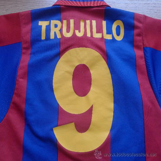 Coleccionismo deportivo: Camiseta Futbol club barcelona Barça Cejudo Trujillo Para niño - Foto 6 - 31742304