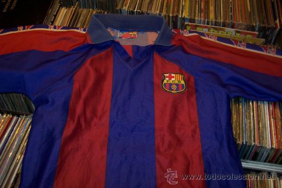 CAMISETA FUTBOL CLUB BARCELONA BARÇA KAPPA FIGO DORSAL 7 TALLA S (Coleccionismo Deportivo - Ropa y Complementos - Camisetas de Fútbol)