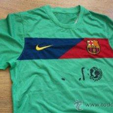 Coleccionismo deportivo: CAMISETA FUTBOL CLUB BARCELONA BARÇA INIESTA UNICEF NIKE TV3 LFP. Lote 31865695