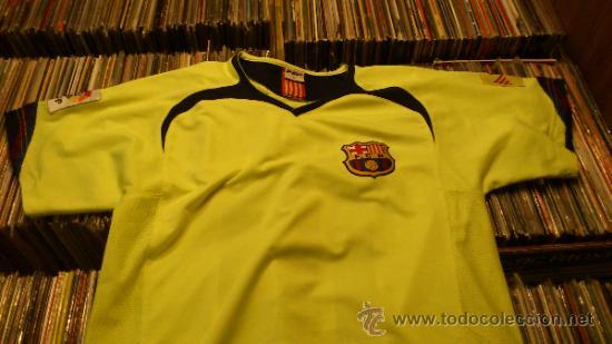 Coleccionismo deportivo: Camiseta Futbol club barcelona Barça Ronaldinho 10 Legea Talla M - Foto 5 - 31959535