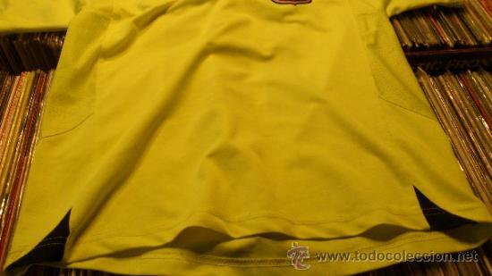 Coleccionismo deportivo: Camiseta Futbol club barcelona Barça Ronaldinho 10 Legea Talla M - Foto 6 - 31959535