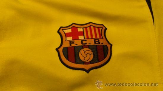 Coleccionismo deportivo: Camiseta Futbol club barcelona Barça Ronaldinho 10 Legea Talla M - Foto 7 - 31959535
