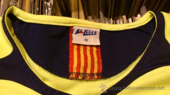Coleccionismo deportivo: Camiseta Futbol club barcelona Barça Ronaldinho 10 Legea Talla M - Foto 3 - 31959535