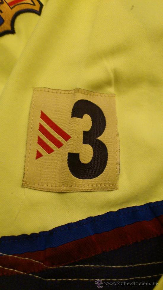 Coleccionismo deportivo: Camiseta Futbol club barcelona Barça Ronaldinho 10 Legea Talla M - Foto 4 - 31959535