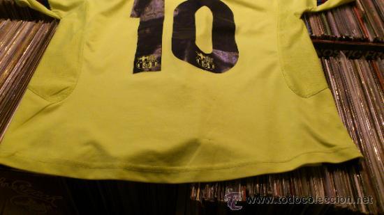 Coleccionismo deportivo: Camiseta Futbol club barcelona Barça Ronaldinho 10 Legea Talla M - Foto 8 - 31959535