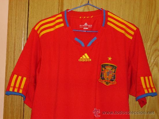 Móvil Escribe email Aturdir  Camiseta españa mundial 2010 adidas talla -m- c - Sold through Direct Sale  - 32057534