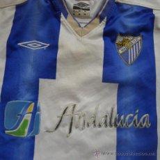 Coleccionismo deportivo: CAMISETA FUTBOL MALAGA UMBRO ANDALUCIA. Lote 32224365