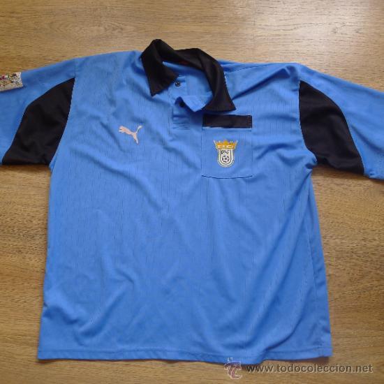 RARA CAMISETA PUMA DE FUTBOL FEDERACION ANDALUZA DE FUTBOL (Coleccionismo Deportivo - Ropa y Complementos - Camisetas de Fútbol)