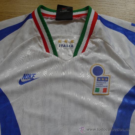 Coleccionismo deportivo: Camiseta de Futbol Italia Nike Ramazzoti Calcio - Foto 2 - 178651323