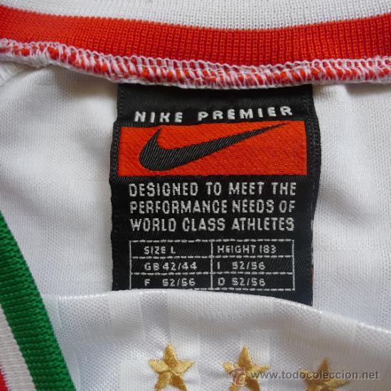 Coleccionismo deportivo: Camiseta de Futbol Italia Nike Ramazzoti Calcio - Foto 5 - 178651323