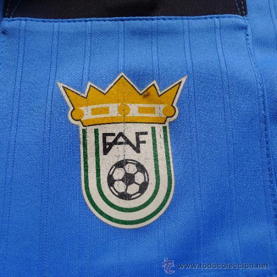 Coleccionismo deportivo: Rara camiseta Puma de Futbol Federacion Andaluza de futbol - Foto 4 - 32229098
