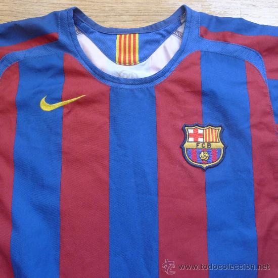 camiseta futbol club barcelona barça ronaldinho - Comprar Camisetas de Fútbol en todocoleccion ...