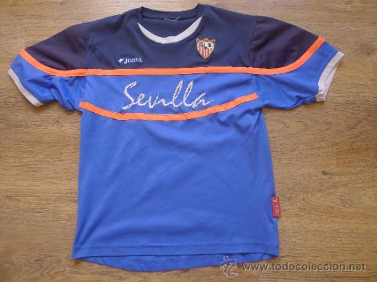 CAMISETA SEVILLA CLUB DE FUTBOL JOMA MUY RARA (Coleccionismo Deportivo - Ropa y Complementos - Camisetas de Fútbol)