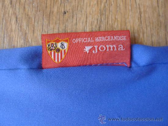 Coleccionismo deportivo: Camiseta Sevilla club de futbol Joma Muy rara - Foto 5 - 32408861