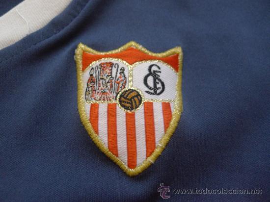 Coleccionismo deportivo: Camiseta Sevilla club de futbol Joma Muy rara - Foto 4 - 32408861