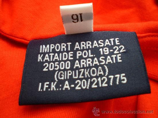 Coleccionismo deportivo: Camiseta Sporting de Gijón Astore, talla 16 - Foto 4 - 33657734