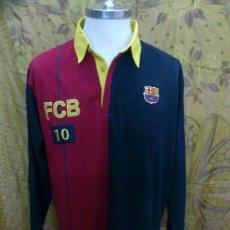 Coleccionismo deportivo: POLO FUTBOL CLUB BARCELONA. PRODUCTO OFICIAL. TALLA XL. Lote 33844551