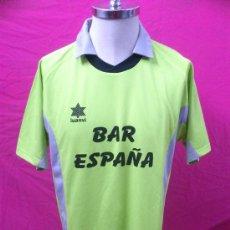 Coleccionismo deportivo: CAMISETA FUTBOL BAR ESPAÑA ( ZARAGOZA ) ORIGINAL LUANVI. DORSAL 7. TALLA L. Lote 35398442