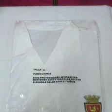 Coleccionismo deportivo: CAMISETA CAMISA FUTBOL FUNDACIONAL PRODUCTO OFICIAL HERALDO DE ARAGON & REAL ZARAGOZA TALLA XL. Lote 168882681