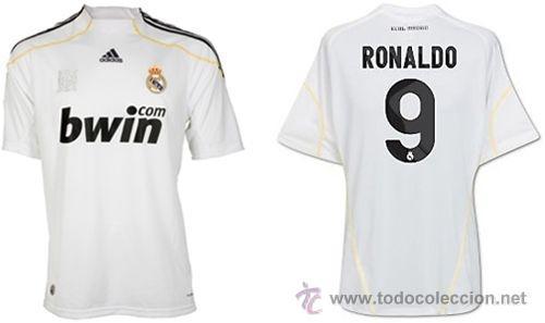 d4155b5e52743 Camiseta real madrid ronaldo n 9 adidas - Vendido en Venta Directa ...