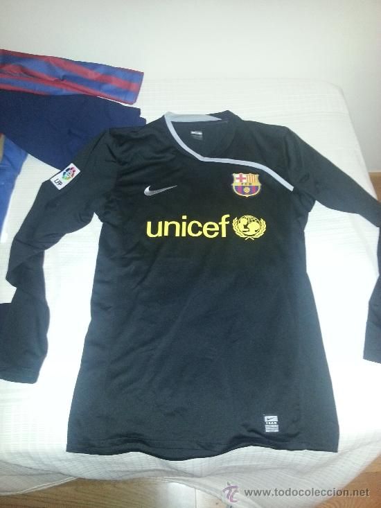 Camiseta Original Portero Fc Barcelona Barça 2008 2009 talla L Triplete cb2f34d978f