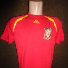 Sports collectibles - CAMISETA FUTBOL ORIGINAL ADIDAS SELECCION ESPAÑOLA ESPAÑA DAVID VILLA TALLA L - 36256596