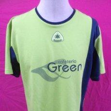 Coleccionismo deportivo: CAMISETA ORIGINAL LUANVI. CAFETERIA GREEN FUTBOL SALA 9. TALLA L. Lote 36362166