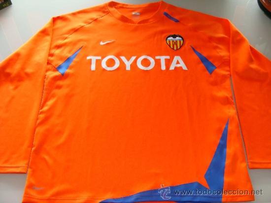 segunda equipacion Valencia CF manga larga