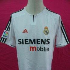 Coleccionismo deportivo: CAMISETA FUTBOL ORIGINAL ADIDAS. REAL MADRID. SIEMENS MOBILE. 10. TALLA M. Lote 36868510
