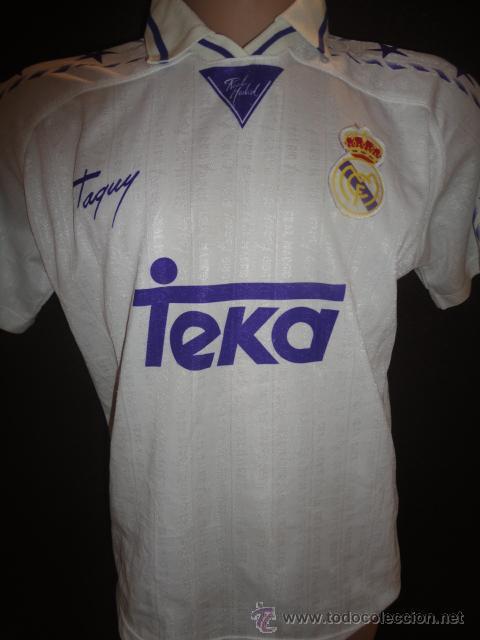 Camiseta Madrid Camisetas Real Rau Original Futbol Taquy Comprar PXkZiOu