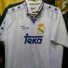 Coleccionismo deportivo: CAMISETA REAL MADRID TEKA TAQUY TALLA 16 - XS . Lote 37167438