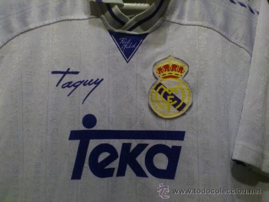 Coleccionismo deportivo: Camiseta Real Madrid Teka Taquy Talla 16 - XS - Foto 2 - 37167438