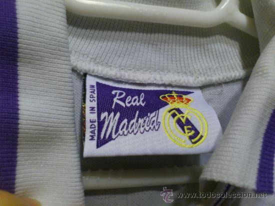Coleccionismo deportivo: Camiseta Real Madrid Teka Taquy Talla 16 - XS - Foto 5 - 37167438