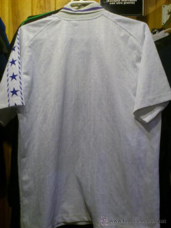 Coleccionismo deportivo: Camiseta Real Madrid Teka Taquy Talla 16 - XS - Foto 3 - 37167438