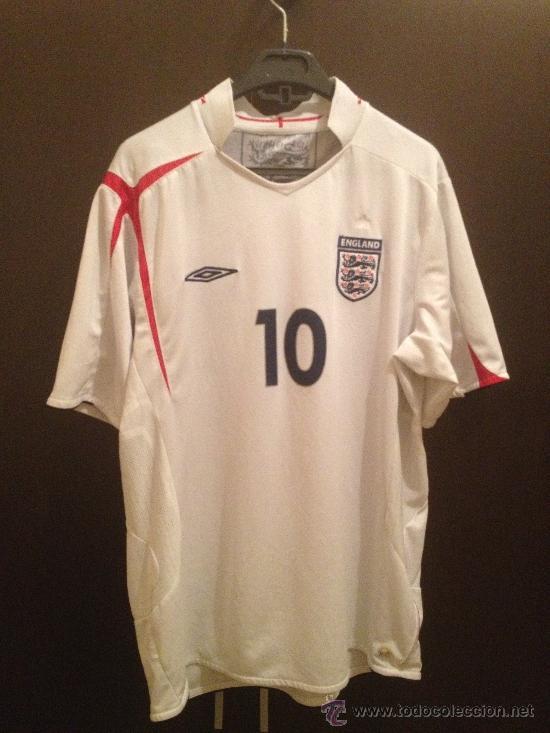 Coleccionismo deportivo: Camiseta original Michael Owen Talla XL - Producto Oficial - Foto 2 - 37671233