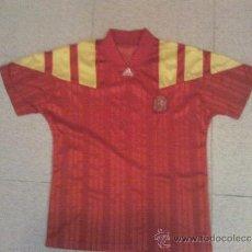 Coleccionismo deportivo: CAMISETA DE ESPAÑA DE EUROCOPA DE SUECIA 1992. Lote 37753174
