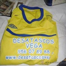 Coleccionismo deportivo: CAMISETA DE FUTBOL LOCAL AMARILLA USADA. Lote 37853809