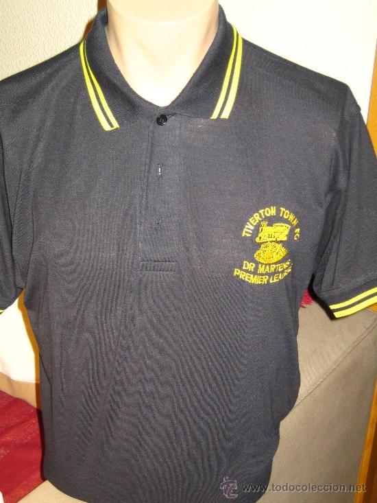 Usado, TIVERTON TOWN FC DR. MARTENS * Vintage POLO Shirt L * Oi punk MOD * FRED PERRY segunda mano