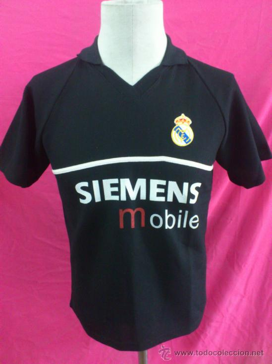 CAMISETA FUTBOL PORTERO. REAL MADRID. CASILLAS. SIEMENS MOBILE. NO ORIGINAL. 7685d22f533e3