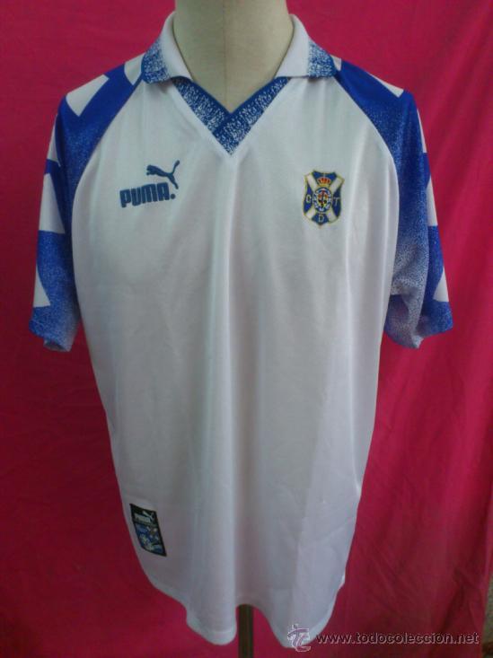 explosión agencia cocodrilo  Camiseta futbol original puma cd tenerife. tall - Sold through Direct Sale  - 38766902