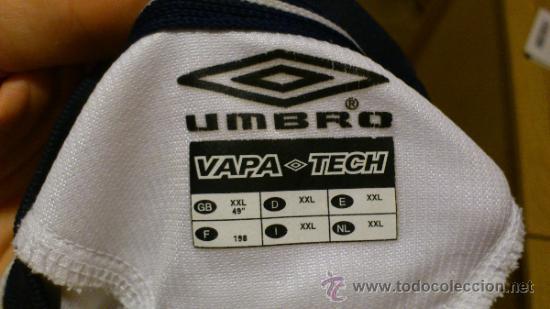 Coleccionismo deportivo: Camiseta de futbol Umbro del Manchester united Vodafone Talla XXL - Foto 6 - 38865496