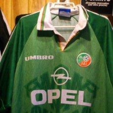 Coleccionismo deportivo: CAMISETA DE FUTBOL FAI IRLANDA OPEL UMBRO TALLA XL. Lote 38869948