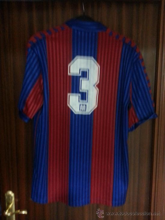 CAMISETA MEYBA MW MATCH WORN FC BARCELONA TALLA XL 1990-1992  3 GUARDIOLA c0995d53f4bcc